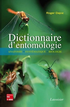 Couverture de l'ouvrage Dictionnaire d'entomologie