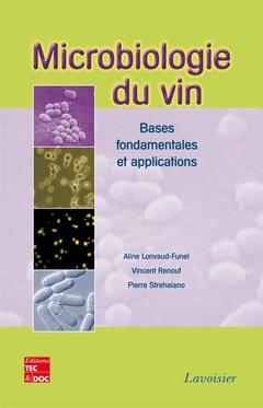 Couverture de l'ouvrage Microbiologie du vin