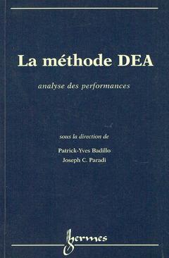 Couverture de l'ouvrage La méthode DEA analyse des performances