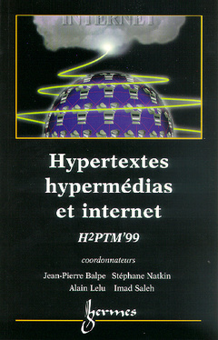 Couverture de l'ouvrage Hypertextes, hypermédias et internet (H2PTM'99), réalisation, outils et méthodes.