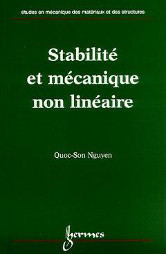 Couverture de l'ouvrage Stabilité et mécanique non linéaire