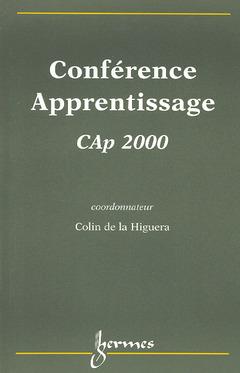 Couverture de l'ouvrage Conférence apprentissage, CAp'2000