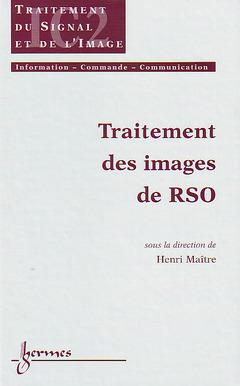 Couverture de l'ouvrage Traitement des images de RSO