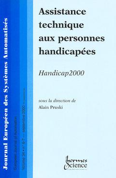 Couverture de l'ouvrage Assistance technique aux personnes handicapées