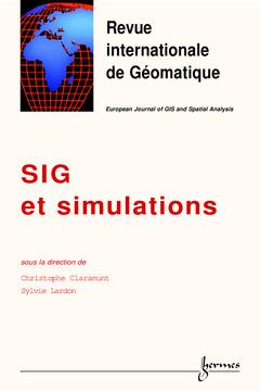 Couverture de l'ouvrage SIG et simulations (numéro spécial de la Revue de Géomatique Vol.10 1/2000)