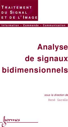 Couverture de l'ouvrage Analyse de signaux bidimensionnels