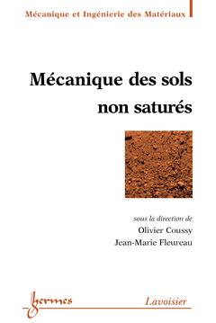 Couverture de l'ouvrage Mécanique des sols non saturés