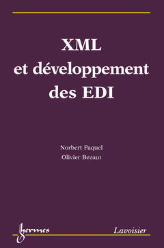 Couverture de l'ouvrage XML et développement des EDI