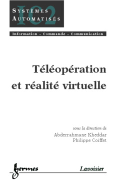 Couverture de l'ouvrage Téléopération et réalité virtuelle