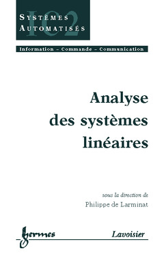 Couverture de l'ouvrage Analyse des systèmes linéaires