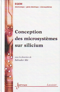 Couverture de l'ouvrage Conception de microsystèmes sur silicium