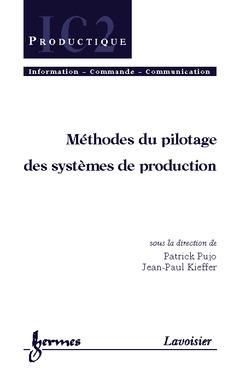 Couverture de l'ouvrage Méthodes du pilotage des systèmes de production