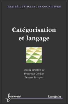 Couverture de l'ouvrage Catégorisation et langage