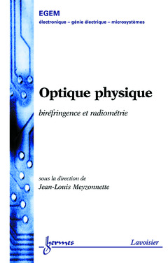 Couverture de l'ouvrage Optique physique