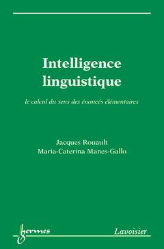 Couverture de l'ouvrage Intelligence linguistique