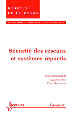 Couverture de l'ouvrage Sécurité des réseaux et systèmes répartis