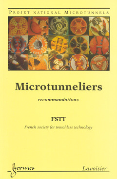 Couverture de l'ouvrage Microtunneliers : recommandations