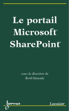Couverture de l'ouvrage Le portail Microsoft SharePoint