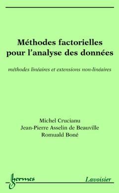 Couverture de l'ouvrage Méthodes factorielles pour l'analyse des données