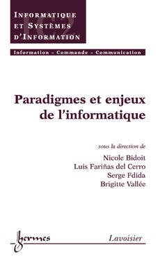 Cover of the book Paradigmes et enjeux de l'informatique