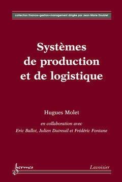 Couverture de l'ouvrage Systèmes de production et de logistique