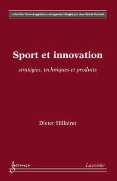 Couverture de l'ouvrage Sport et innovation