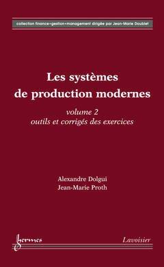 Couverture de l'ouvrage Les systèmes de production modernes