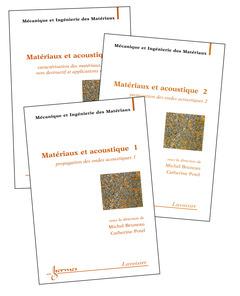 Couverture de l'ouvrage Matériaux et acoustique (en 3 volumes)