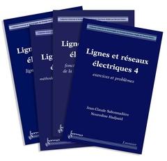 Couverture de l'ouvrage Lignes et réseaux électriques (les 4 volumes)