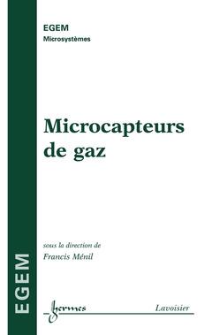 Couverture de l'ouvrage Microcapteurs de gaz
