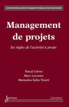 Couverture de l'ouvrage Management de projets