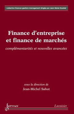 Couverture de l'ouvrage Finance d'entreprise et finance de marchés