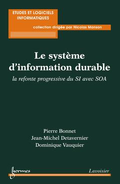 Couverture de l'ouvrage Le système d'information durable