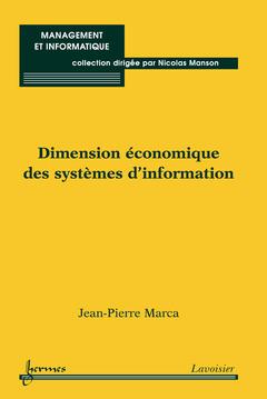 Couverture de l'ouvrage Dimension économique des systèmes d'information