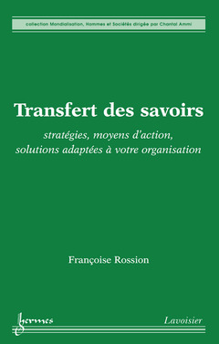 Couverture de l'ouvrage Transfert des savoirs