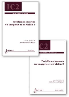 Couverture de l'ouvrage Problèmes inverses en imagerie et en vision en 2 volumes inséparables
