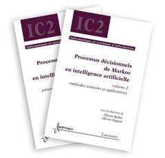Couverture de l'ouvrage Processus décisionnels de Markov en intelligence artificielle (Les 2 volumes)