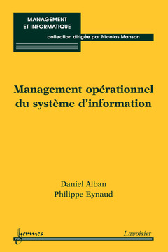 Couverture de l'ouvrage Management opérationnel du système d'information