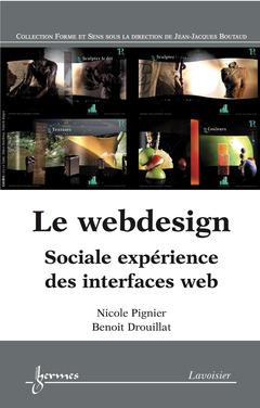 Couverture de l'ouvrage Le webdesign