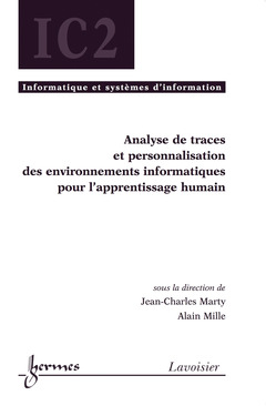 Couverture de l'ouvrage Analyse de traces et personnalisation des environnements informatiques pour l'apprentissage...