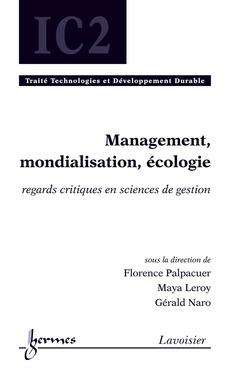 Couverture de l'ouvrage Management, mondialisation, écologie