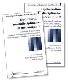 Couverture de l'ouvrage Optimisation multidisciplinaire en mécanique : les 2 volumes