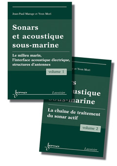 Cover of the book Sonars et acoustique sous-marine (les 2 volumes)