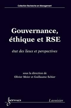 Couverture de l'ouvrage Gouvernance, éthique et RSE