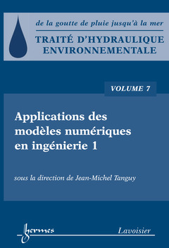 Couverture de l'ouvrage Applications des modèles numériques en ingénierie 1