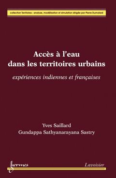 Couverture de l'ouvrage Accès à l'eau dans les territoires urbains
