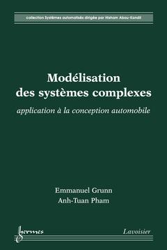 Couverture de l'ouvrage Modélisation des systèmes complexes