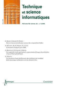 Couverture de l'ouvrage Technique et science informatiques-RSTI série TSI Volume 28 n° 3/Mars 2009