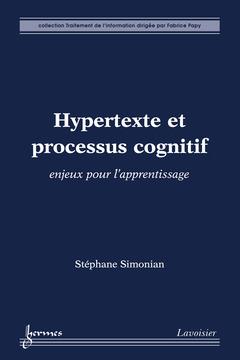 Couverture de l'ouvrage Hypertexte et processus cognitif : enjeux pour l'apprentissage