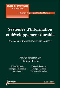 Couverture de l'ouvrage Systèmes d'information et développement durable